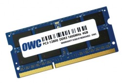 OWC SO-DIMM DDR3 4GB 1600MHz CL11 Low Voltage Apple Qualified