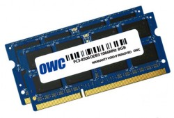 OWC SO-DIMM DDR3 2x8GB 1066MHz CL7 Apple Qualified