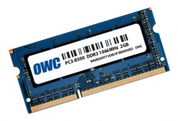 OWC SO-DIMM DDR3 2GB 1066MHz CL7 Apple Qualified