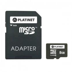 Platinet microSDHC 8GB [class 10, Adapter SD]