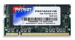 Patriot SO-DIMM DDR 1GB 333MHz CL2,5
