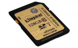 Secure Digital (SDXC) 128GB Kingston Class 10 UHS-I Ultimate [SDA10/128GB]