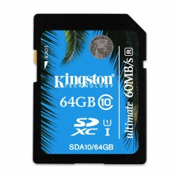 Secure Digital (SDHC) 64GB Kingston Class 10 UHS-I