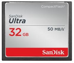 Compact Flash (CF) 32GB SanDisk Ultra 50 MB/s [SDCFHS-032G-G46]