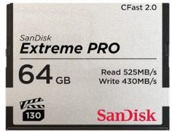 SanDisk CF 64GB Extreme Pro CFAST 2.0 525MB/s VPG130 SDCFSP-064G-G46