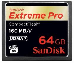 SanDisk Extreme Pro CompactFlash 64GB SDCFXPS-064G-X46