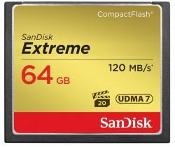 SanDisk CompactFlash Extreme 64GB UDMA7 SDCFXSB-064G-G46