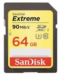 SanDisk Extreme SDHC 64GB 90MB/s [SDSDXNE-064G-GNCIN]