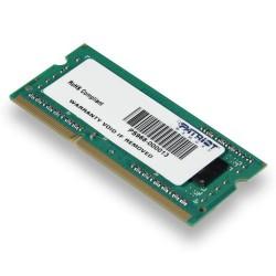 Patriot SO-DIMM DDR3 4GB 1333MHz CL9 512x8 1 rank