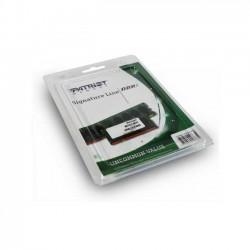 Patriot Signature Line 4GB [1x4GB 1600MHz DDR3 CL11 SODIMM] PSD34G160081S