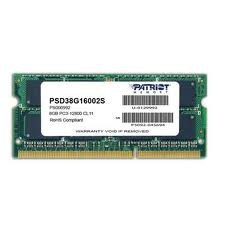 Patriot Signature Line 8GB [1x8GB 1600MHz DDR3 CL11 SODIMM] PSD38G16002S