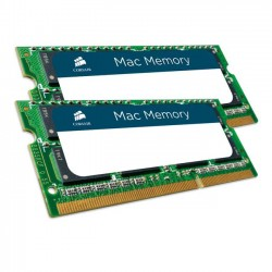 Corsair Mac Memory 16GB [2x8GB 1333MHz DDR3 CL9 SODIMM Apple Qualified] CMSA16GX3M2A1333C9