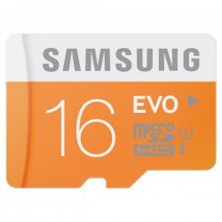 Karta microSDHC 16GB Samsung EVO UHS-I Class 10 + 48MB/s
