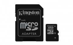 Kingston microSDHC 32GB UHS-I + adaptér SDCA10/32GB
