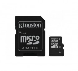 Kingston Micro SDHC karta 32GB Class 4 SDC4/32GBSP