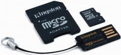 Kingston microSDHC 32GB Mobility Kit G2 class 10 + adaptér + čtečka MBLY10G2/32GB