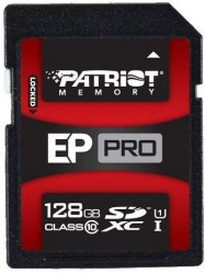 Secure Digital (SDXC) 128GB Patriot EP Pro UHS-I 90/50 MB/s