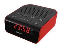Radiobudík Sencor SRC136 červený