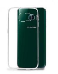 PURO Plasma Cover - Pouzdro Samsung Galaxy S6 EDGE průhledné