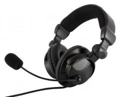 MODECOM MC-826 Hunter, sluchátka s mikrofonem