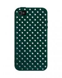 SwitchEasy Glitz - Pouzdro iPhone 4/4S + 2 ochranné fólie na displej (zelené)