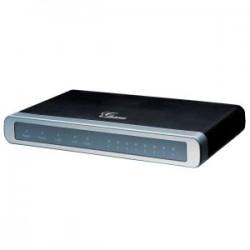 Grandstream GXW4104 - 4 portový adaptér SIP (4x FXO + router 100Mbit)
