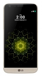 LG G5 zlatý