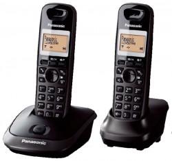 Telefon Panasonic KX-TG2512PDT Duo titanový