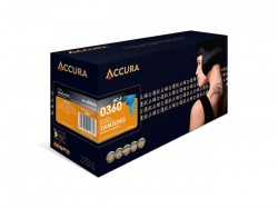 ACCURA Toner do Samsung (CLT - C406S) CLP-360/365/CLX-3305 - cyan 1000 stran re