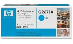 Toner HP (Q2671A - 4 tys.) LJ 3500 cyan
