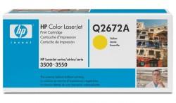 Toner HP (Q2672A - 4 tys.) LJ 3500 yellow