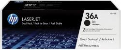 Toner HP (CB436AD -2 x 2 tis.) LJ P1505 černý dvojité balení