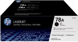 Toner HP (CE278AD- 2 x 2,1 tis.) LJ Pro M1536dnf, P1566, P1606dn, 2 x2100 str, černý