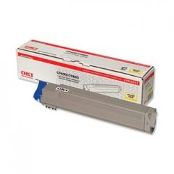 Toner OKI (42918913) do tiskárny yelow OKI C9600/C9650/C9800 - kapacita: asi 15 000 stran