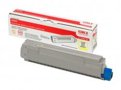 Toner OKI (43487709) do tiskárny yelow OKI C8600/C8800 - kapacita: asi 6000 stran