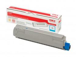 Toner OKI (43487711) do tiskárny cyan OKI C8600/C8800 - kapacita: asi 6000 stran