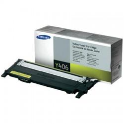 Toner Samsung žlutý CLT-Y406S 1 tis. str.CLP-360/ CLP-365 CLX-3300/ CLX-3305