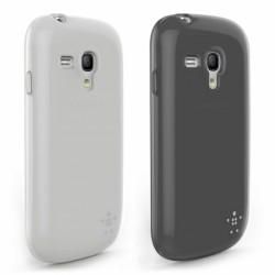 Belkin Grip Sheer kryty pro Samsung Galaxy S III mini (black+clear)