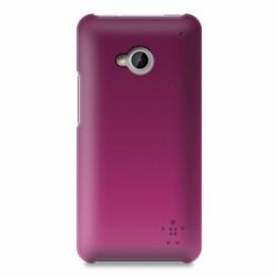 Pouzdro Belkin Ultra Thin Case růžové pro HTC ONE