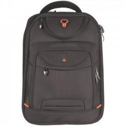 """D-Lex batoh na notebook LX-904N-BK 16"""" dvoukomorový černý"""