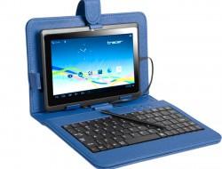 "Pouzdro Tablet Tracer 7"" modré + klávesnice micro USB"
