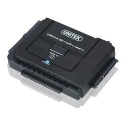 Adaptér USB 3.0 pro disky SATA III i IDE