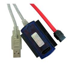 Redukce USB - SATA/IDE Combo 2.5'' a 3.5'' s napájením 4World
