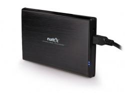 """Natec RHINO box USB 3.0 pro disk 2.5"""" SATA, černý hliník"""