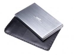"""Natec RHINO Limited Edition box USB 3.0 pro disk 2.5"""" SATA, šedý kartáčovaný hlíník"""
