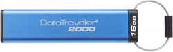 Kingston DataTraveler 2000 16GB USB 3.0 AES Encrypted USB 3.0 [DT2000/16GB]