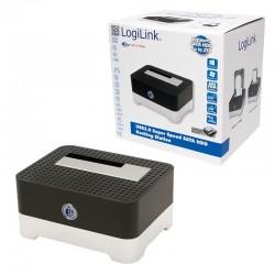 """Dokovací stanice Logilink USB 3.0 pro disky 2.5"""" + 3.5"""" SATA HDD"""