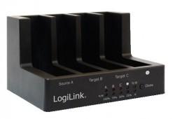 """Dokovací stanice USB 2.0 pro 4xHDD/SSD 2,5/3,5"""""""