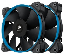 Chladič Corsair SP120 PWM Low Noise High Pressure Fan, 120mm x 25mm, 4 pin, Dual Pack