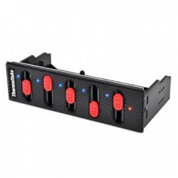 Thermaltake Commander F5 – regulátor otáček pro 5 chladičů, černý